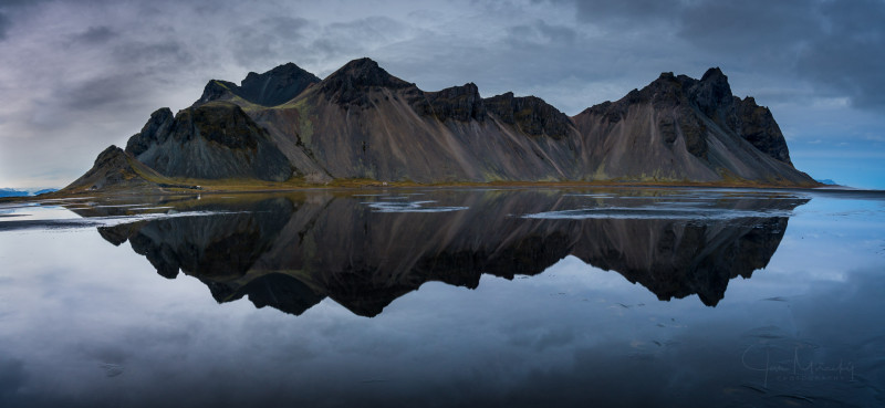 Vestrahorn mountain range