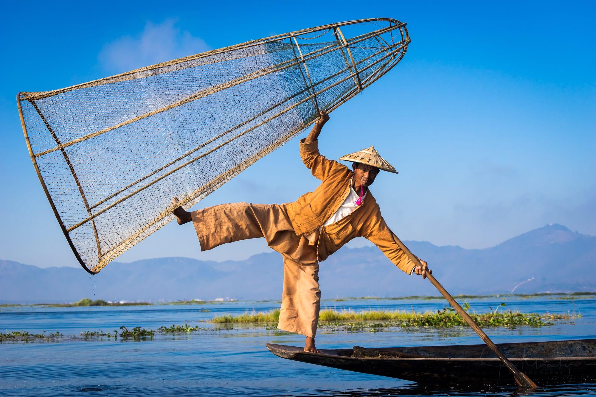 Fisherman at Lake Inle