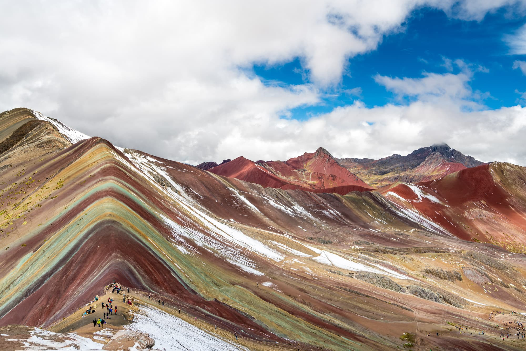 Rainbow Mountain and Red Valley