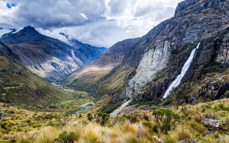 The Andes, Cordillera Blanca