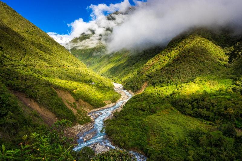 Valley of Urubamba valley