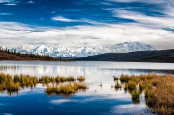 Mt. McKinley taken from Wonder Lake, Alaska, USA