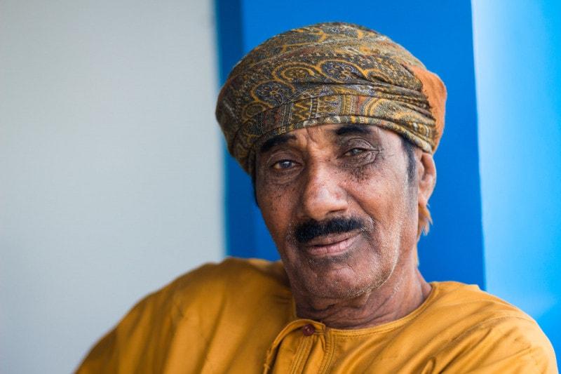 Omani man, Tiwi