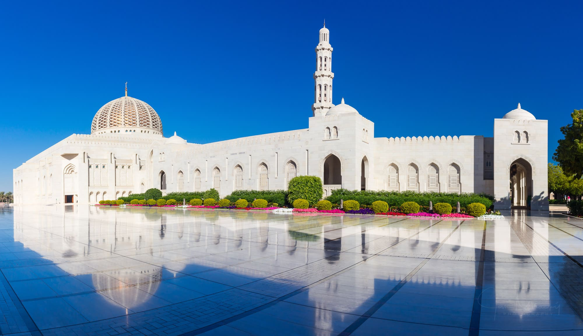 Qaboos Mosque in Muscat