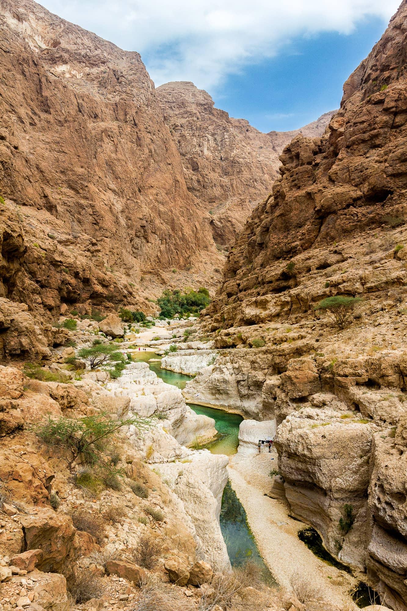 Wadi Shaab, Oman