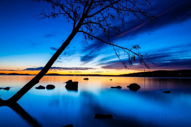 Pyhajarvi lake, Finland