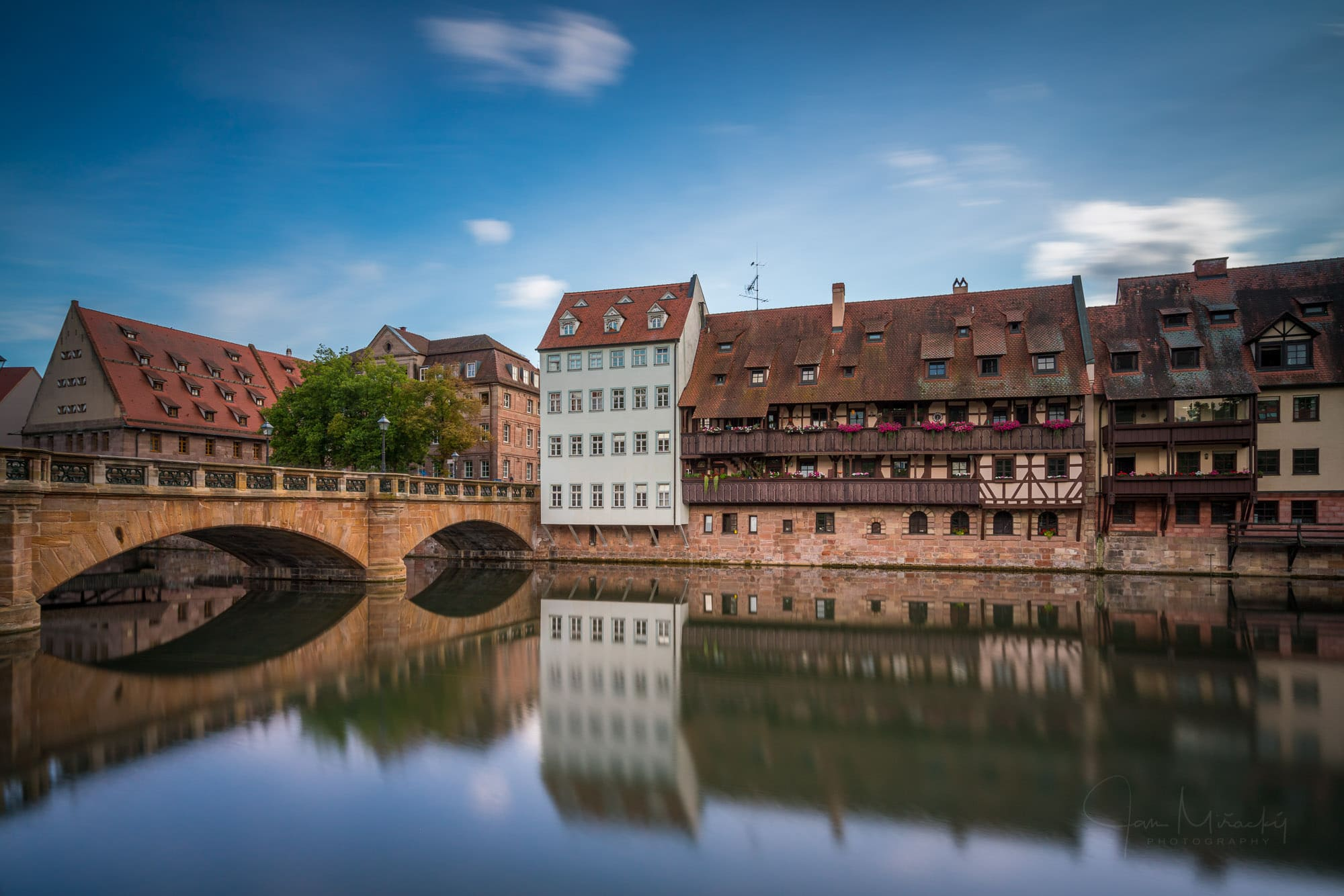 Maxbrücke in Nuremberg, Germany