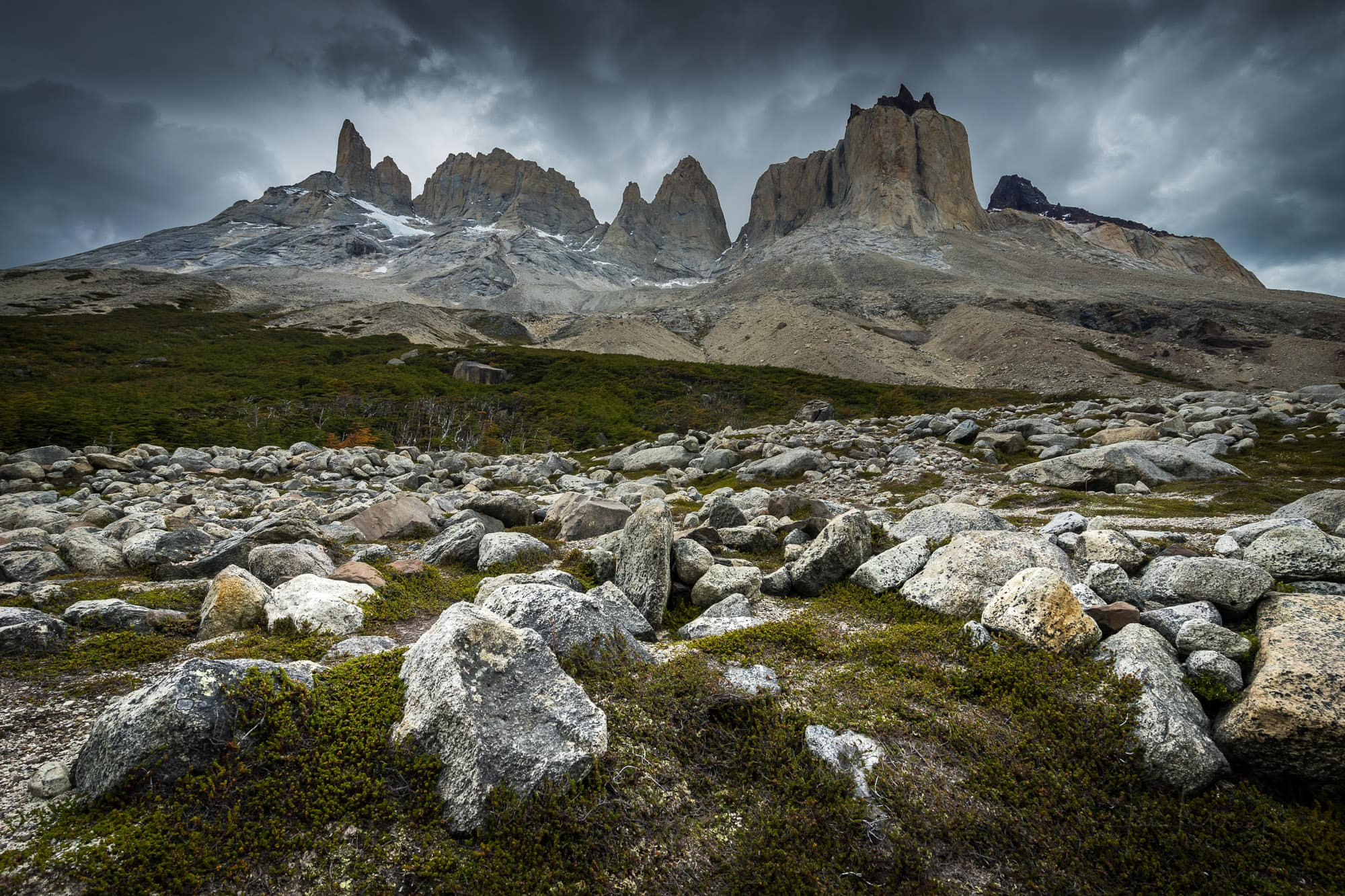 Valle Frances, Torres del Paine NP, Chile