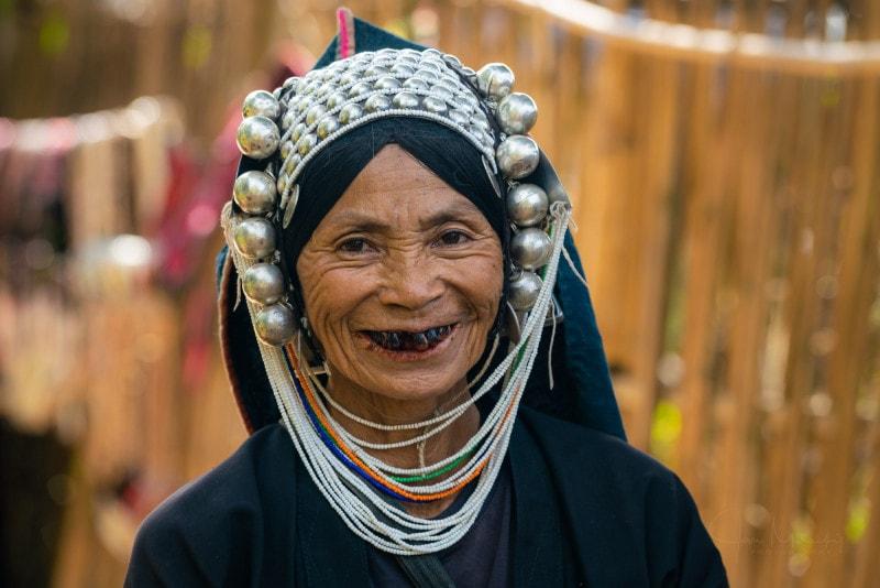 Women from Akha tribe, Kengtung, Myanmar