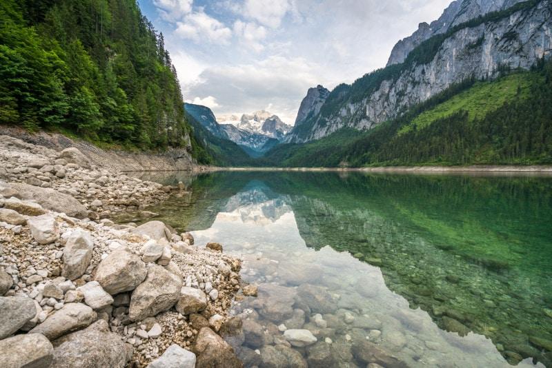 Vorderer Gosausee lake, Austria