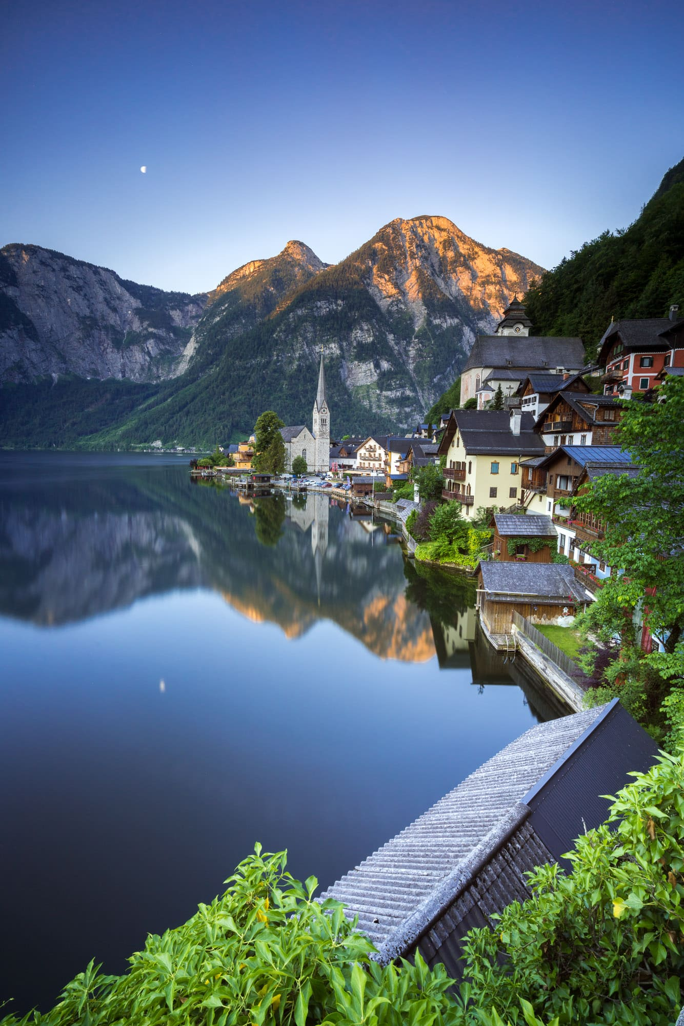Hallstatt at sunrise, Austria