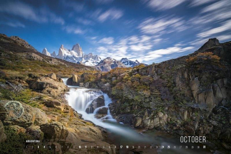 Calendar 2020 by Jan Miracky - October