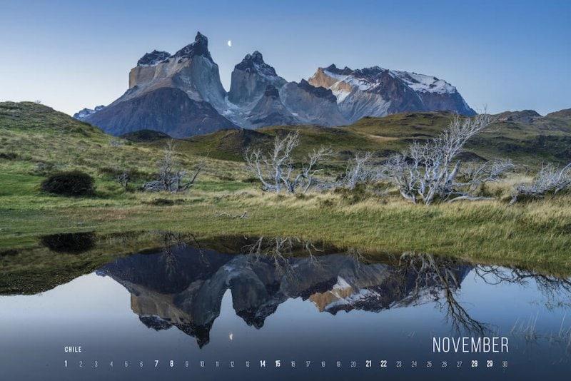 Calendar 2020 by Jan Miracky - November