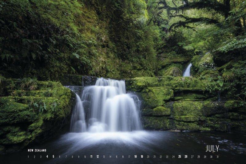 Calendar 2020 by Jan Miracky - July