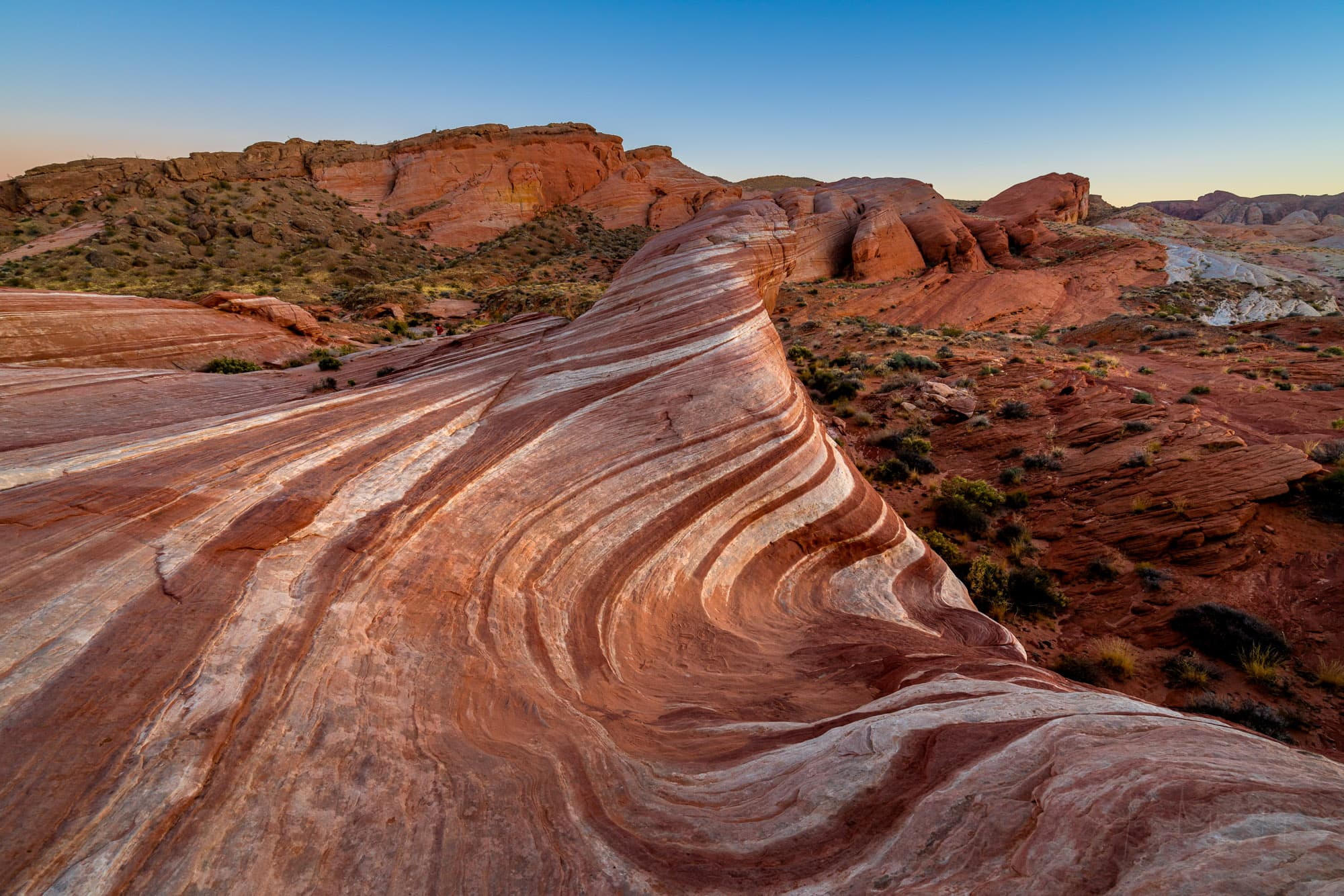 Fire Wave rock formation, Valley of Fire State Park