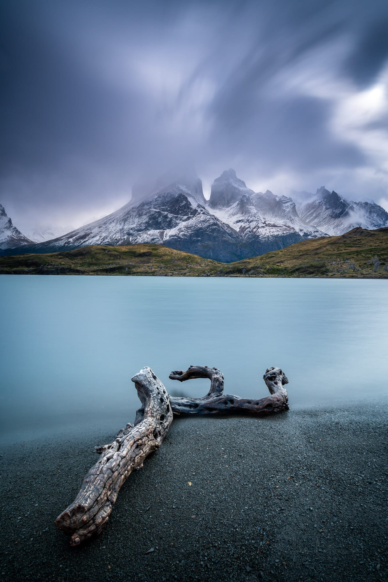 Los Cuernos mountains, Torres del Paine National Park