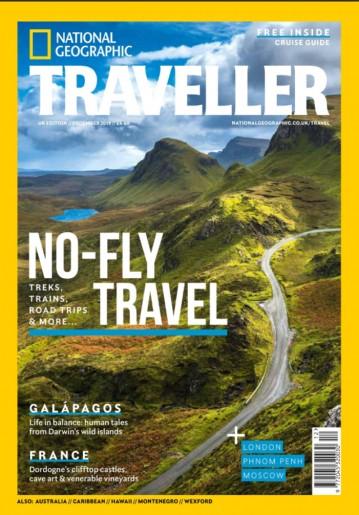 National Geographic Traveller UK December 2019 cover