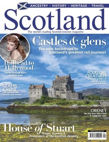Scotland Magazine September/October 2021 Cover by Jan Miracky